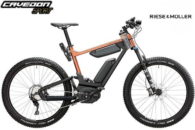 Bicicletta Elettrica Riese Muller Delite Mountain Rossa Cavedon Sport