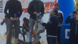 mtb e corsa XC running vince in nostro atleta LUCA SANDONA' torre bike
