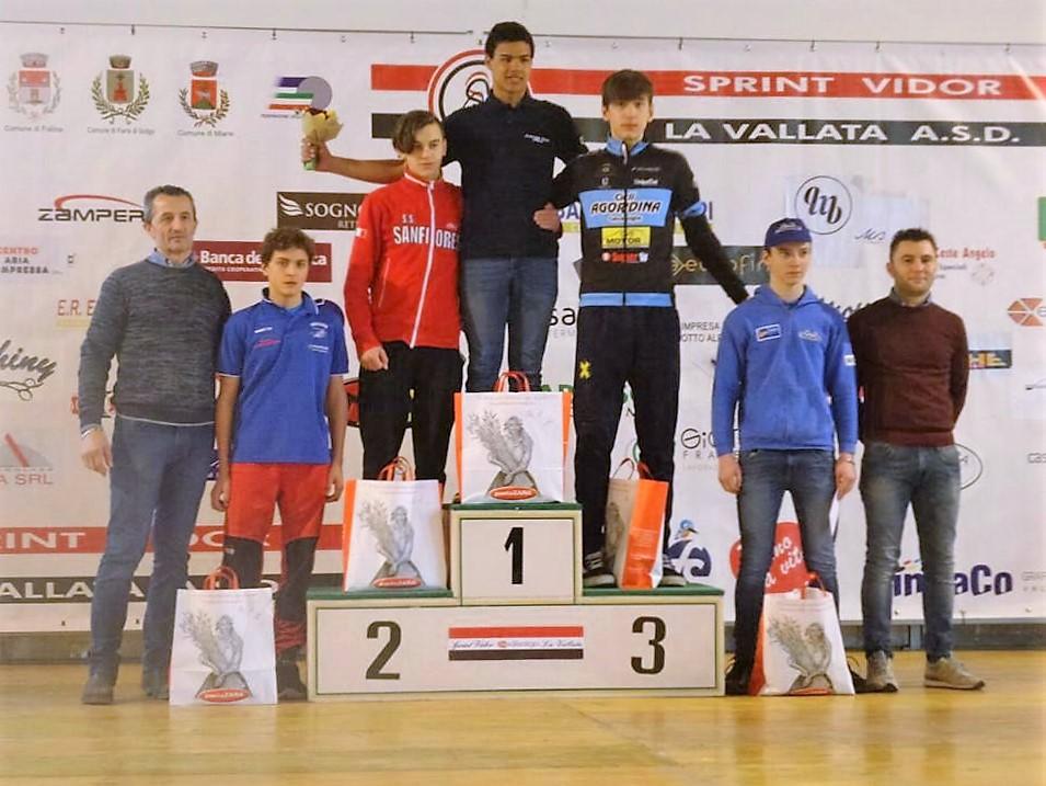 Carlo Penzo 4° a Vidor tragli allievi 1° anno.