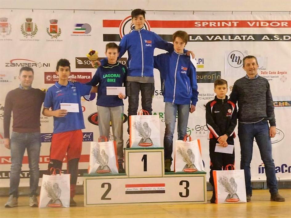 Daniele Bidese 5° a Vidor tra gli esordienti.